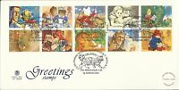 GB QE11 1994 GREETINGS ILLUS FDC
