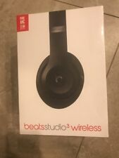New Genuine Beats by Dr. Dre - Beats Studio3 Wireless Headphones - Matte Black