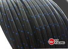 AN10 10-AN Nylon Stainless Steel Braided 1500 PSI Oil Fuel Gas Hose Line By 3FT