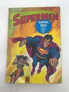SUPERMAN #11 Turkish Comic Book 1980s DC COMICS Ultra Rare CLARK KENT Kal-El