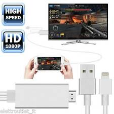 CAVO ADATTATORE VIDEO LIGHTING USB HDMI HDTV TV PER APPLE IPHONE 6 6S e 6 PLUS