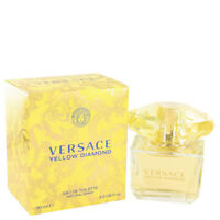 Versace Yellow Diamond Eau De Toilette Spray By Versace 3oz For WOMEN
