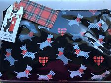 """""""The Scottish Terrier Collection """"Toilet/Cosmetic Bag 10""""x6"""""""
