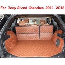 For Jeep Grand Cherokee 2011-2017 No Subwoofer Trunk Mat Cargo Boot Liner Carpet