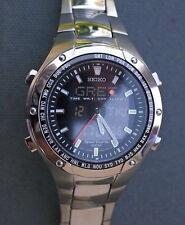 SEIKO H023-00A0 SNJ001 Multi Functions Analogic/Digital watch