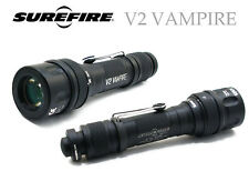 Surefire V2 Vampire Flashlight, Visible Light & Infra Red