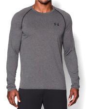 Under Armour UA TECH™ Long Sleeve XXL Men's Carbon Heather T-Shirt