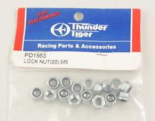 Thunder Tiger PD1563 Dadi Autobloccanti M5 (20) Lock Nut modellismo