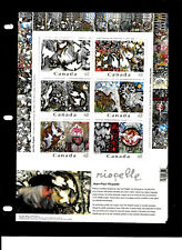 World / Lots Collection/ Stamps/Canada/ Famous Painter Jean-paul Riopelle