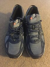 New Balance Mens Trail Running Shoes Size 8 4E Blue/Grey 410 V4 New Without Box