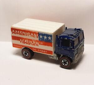 Vintage 1970's Hot Wheels Redline Flying Colors American Hauler - Good Condition