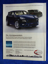 Techart Porsche Cayenne - Werbeanzeige Reklame Advertisement 2011 __ (404