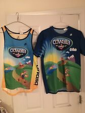 Odwalla Branded Champion Systems Racing Singlet & Short Sleeved Tech Shirt LARGE
