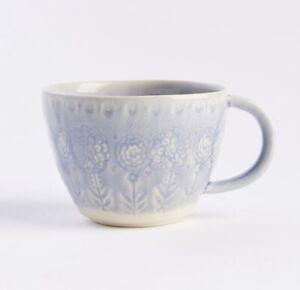 NEW Anthropologie VERU Mug Tea Coffee Vintage Cup Dishwasher Microwave Safe