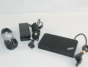 Lenovo Thinkpad OneLink+ Dock DU9047S1 4K USB3 DISPLAYPORT 40A4 + 90W AC ADAPTER