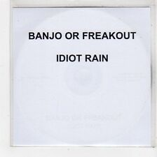 (FU681) Banjo Or Freakout, Idiot Rain - 2010 DJ CD
