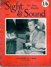 SS51-19-12 SIGHT AND SOUND Apr 1951 Kirk Douglas UK MAGAZINE
