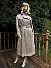 Ladies BURBERRY TRENCH COAT MAC RAINCOAT + WOOL LINER 10-12 US 8-10 EU 36 38 40