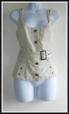 Firetrap women's strappy white top size UK 6