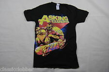 ASKING ALEXANDRIA SKATER T SHIRT SMALL NEW OFFICIAL FROM DEATH TO DESTINY METAL