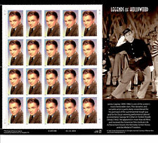 1999 JAMES CAGNEY Legends of Hollywood 5th: Mint MNH Sheet 20 x 33¢ STAMPS #3329