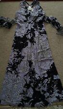 Saba maxi silk dress sz 14 built in belt beautiful style excellent condition