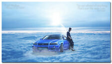 Fast and Furious Paul Walker Movie Art Silk Poster 24x43 inch Wall Decor 002