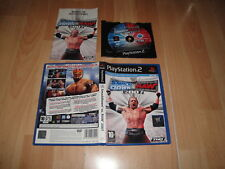 WWE SMACKDOWN VS. RAW 2007 DE YUKE'S - THQ PARA LA SONY PS2 USADO COMPLETO