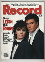 Record Mag Simon Le Bon & Nick Rhodes & Arcadia November 1985 012721nonr