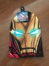 Marvel's Avengers Iron Man Face Cloth / Wash Mitt - BNWT