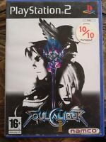 SOUL CALIBUR II PS2 PlayStation2 Pal Game with box and instructions
