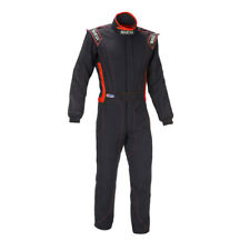 Sparco Victory RS-4 Racing Suit, SFI-5 Rated, Black/Red, S/M