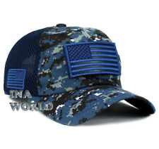 f8c09fb4b37 USA Flag hat Detachable Patch Tactical Operator Micro Mesh Military  Baseball cap