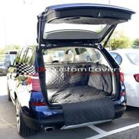 BMW X3 TAILORED QUILTED WATERPROOF BOOT LINER MAT F25 2011-17 218