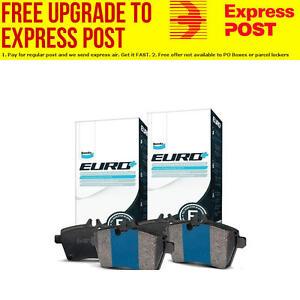 Bendix EURO Front and Rear Brake Pad Set DB2184-DB2185EURO+ fits Audi A5 2.0