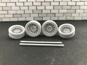 1:43 Tuning Wheel Set No Painted. 22""