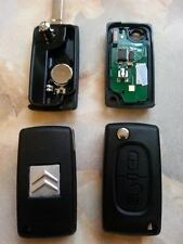 Key Complete Remote 2 BTN CITROEN C2 C3 berlingo CE0536 Frequency:433 mhz