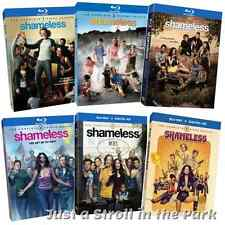 Shameless: Complete TV Series Seasons 1 2 3 4 5 6 Box / BluRay Set(s) NEW!