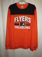 Nhl long sleeve Phila Flyers shirt, #17 Simmonds, Men's Large, Nwt