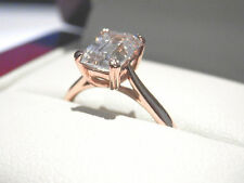 Solitaire Rose Gold 14k Engagement Rings