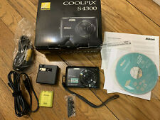 Nikon COOLPIX S4300 16 MP Digital Camera with 6x Zoom NIKKOR (Used)
