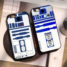 Star Wars Robot Character R2-D2 Silicone Case Cover for iPhone 6 7 8 X Plus SE