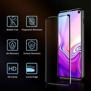 ESR Full Coverage Tempered Glass Screen Protector for Samsung S10e - Twin Pack