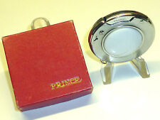 """PRINCE """"ROTARY"""" AUTOMATIC POCKET LIGHTER WITH MOTHER OF PEARL PLATES - JAPAN"""