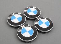 New Genuine BMW Wheel Center Caps 68mm