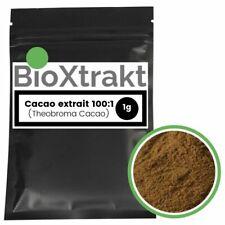 BioXtrakt ® Cacao Extrait 100:1 (Theobroma cacao) Cacaoyer - Stimulant Puissant