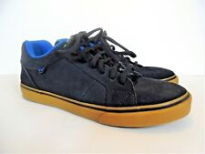Shaun White Blue Canvas and Suede Leather Shoes Men's US 9, UK 8.5