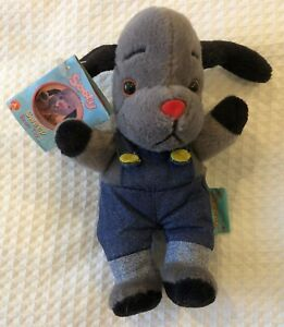 sooty and sweep  bean toy  6 inches tall new with tag