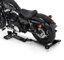 Motorcycle Garage Wheel Skate ConStands M2 black Rail Platform Motorbike