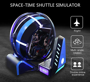 Virtual Reality Space-Time Shuttle VR  Motion 9D Shooter Arcade Movie SEE VIDEO